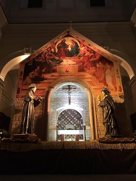 Esposizione San Francesco e Santa Chiara