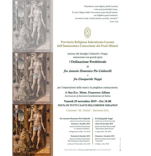 Ordinazione Presbiteriale